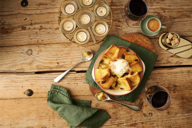 Brioche Loaf Top Apple Pie