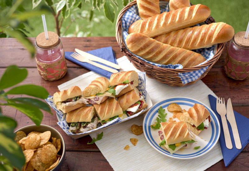 Baguette Sandwiches