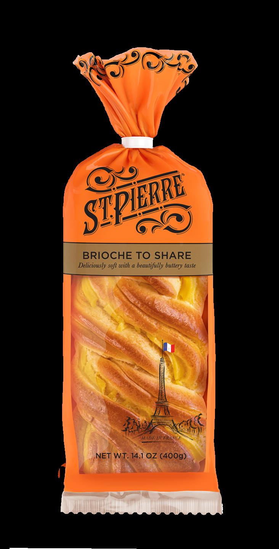 St Pierre Brioche To Share Pack Shot