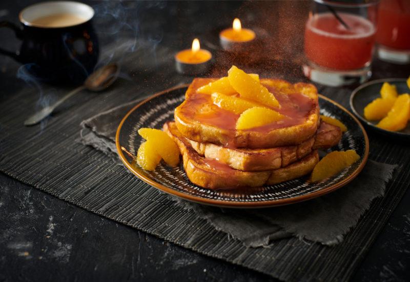 Blood Orange French Toast